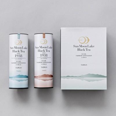 日月潭紅茶 - 粹白茶葉禮盒 (紅韻+山茶)