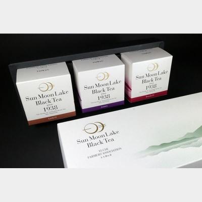 【日月潭紅茶】粹白茶包禮盒(紅玉,阿薩姆,紅韻)