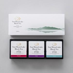 日月潭紅茶 - 粹白茶包禮盒 (紅玉,阿薩姆,山茶)