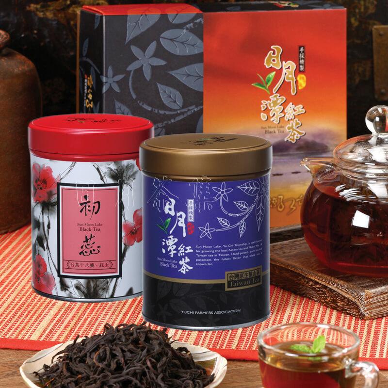 日月潭紅茶 - 精選禮盒(初蕊+藏芽)
