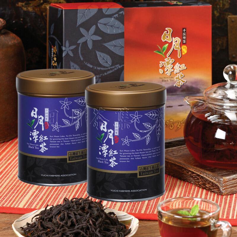 日月潭紅茶 - 精選禮盒 - 台灣山茶(藏芽)