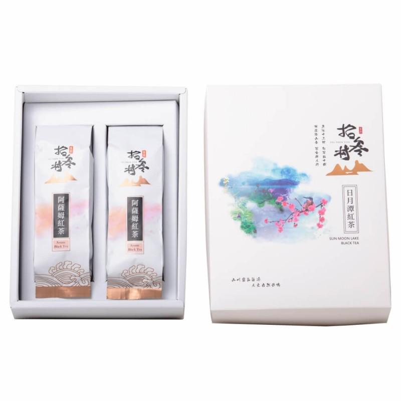 日月潭紅茶 - 環保禮盒 (台茶8號●阿薩姆紅茶)