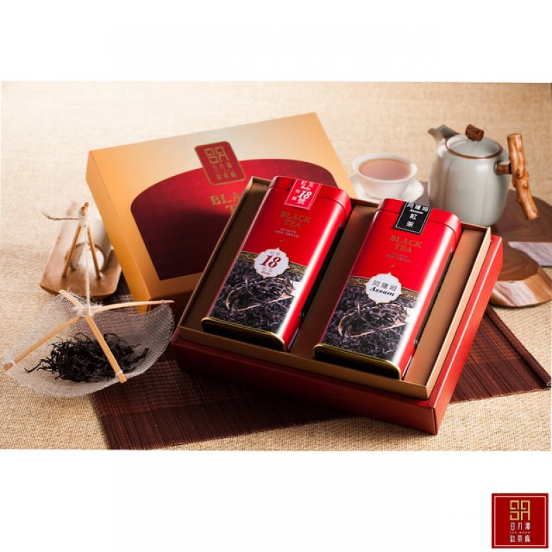 日月潭紅茶 - 頂級 阿薩姆+18號紅玉 禮盒(3盒)