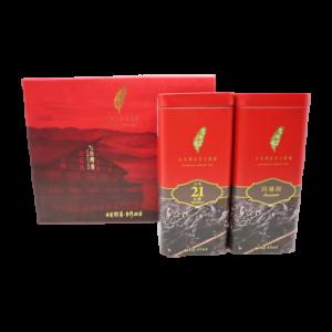 日月潭紅茶 - 頂級雙罐禮盒 (紅韻+阿薩姆)