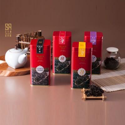 日月潭紅茶 - 頂級茶罐四件組 (阿薩姆+紅玉+紅韻+山茶)
