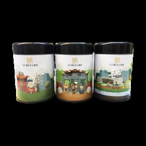 日月潭紅茶 - 存錢筒紀念款3罐組 (阿薩姆+紅玉)