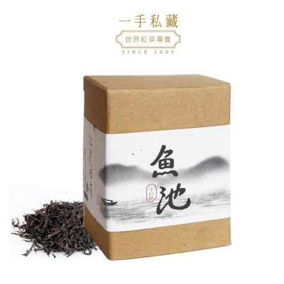 純癡茶 台灣魚池18號紅茶 40g盒裝散茶