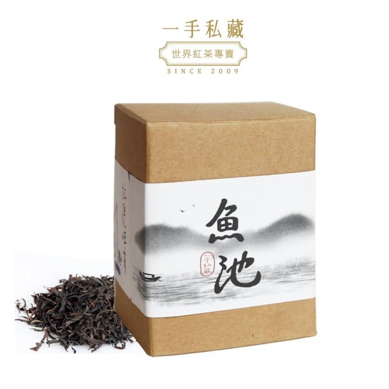 純癡茶|台灣魚池18號紅茶|40g盒裝散茶