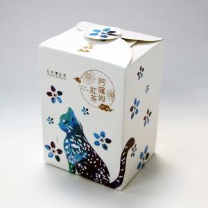 日月潭紅茶 - 生態主題袋茶禮盒 (阿薩姆紅茶20入)-石虎(二件組)