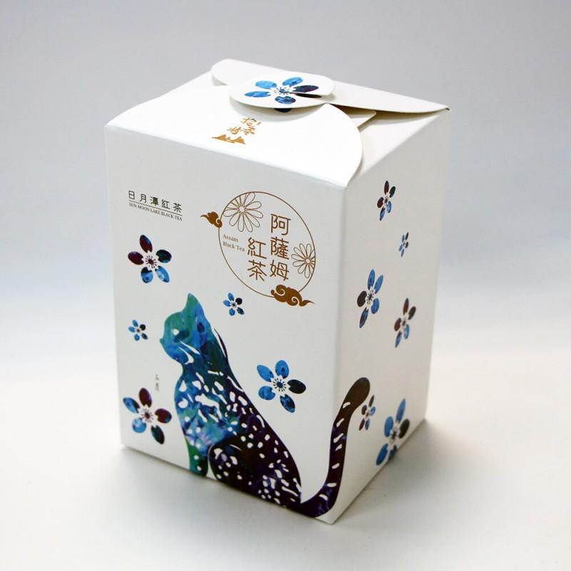 日月潭紅茶 - 生態主題袋茶禮盒 (阿薩姆紅茶20入)-石虎