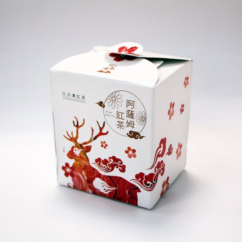 日月潭紅茶 - 生態主題袋茶禮盒 (阿薩姆紅茶15入)-水鹿(二件組)