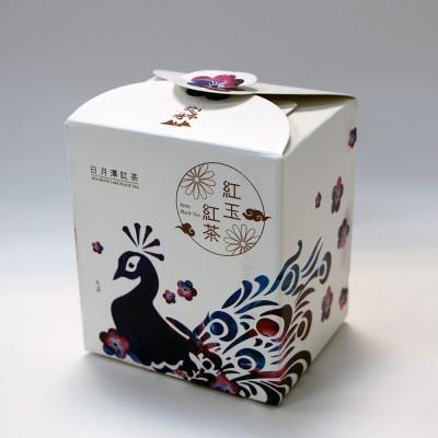 日月潭紅茶 - 生態主題袋茶禮盒 (紅玉紅茶15入)-孔雀(二件組)