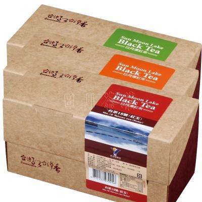 日月潭紅茶 - 紅茶包三件組(24入)