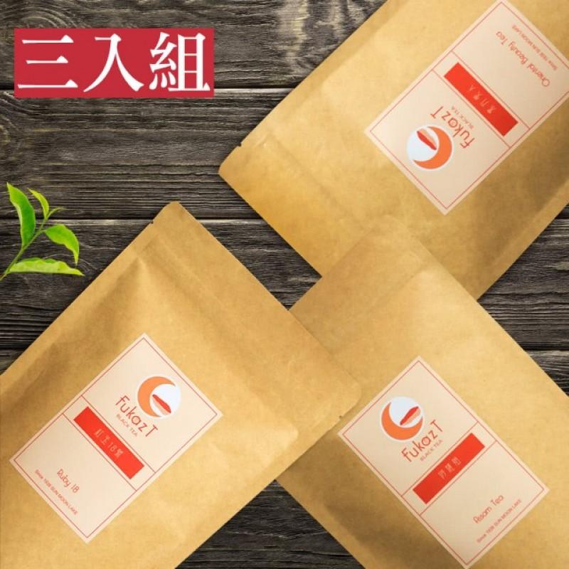 御用極品-紅玉18/阿薩姆/蜜香貴妃茶(茶包三入組)