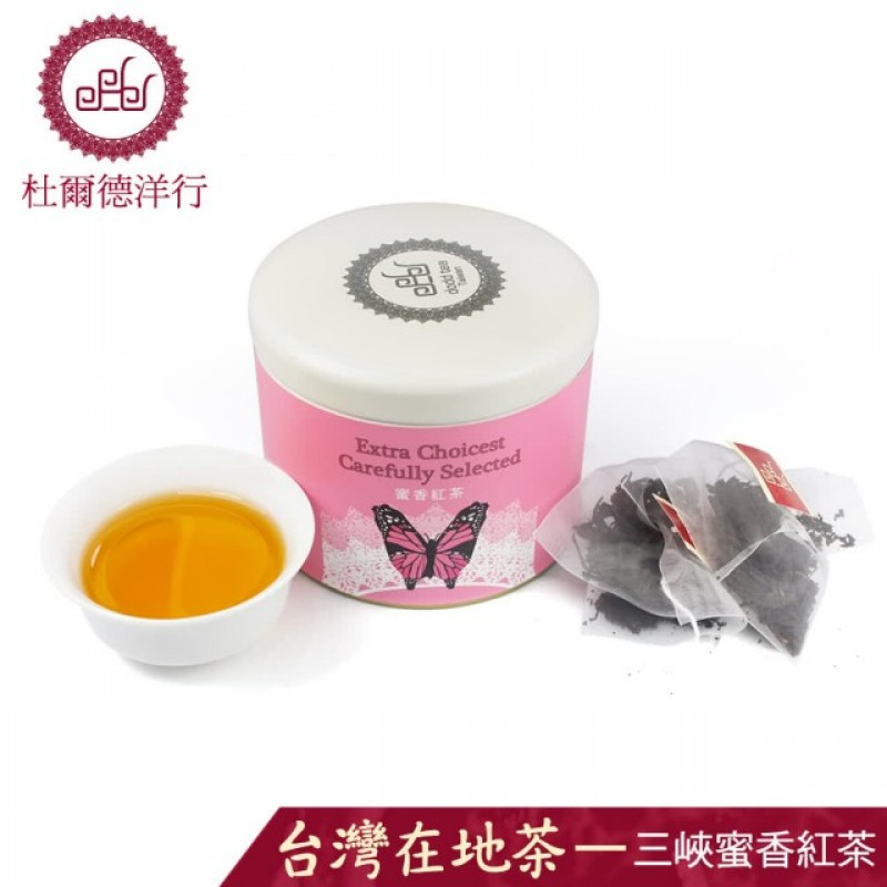 『三峽茗茶』嚴選蜜香紅茶茶包(12入)
