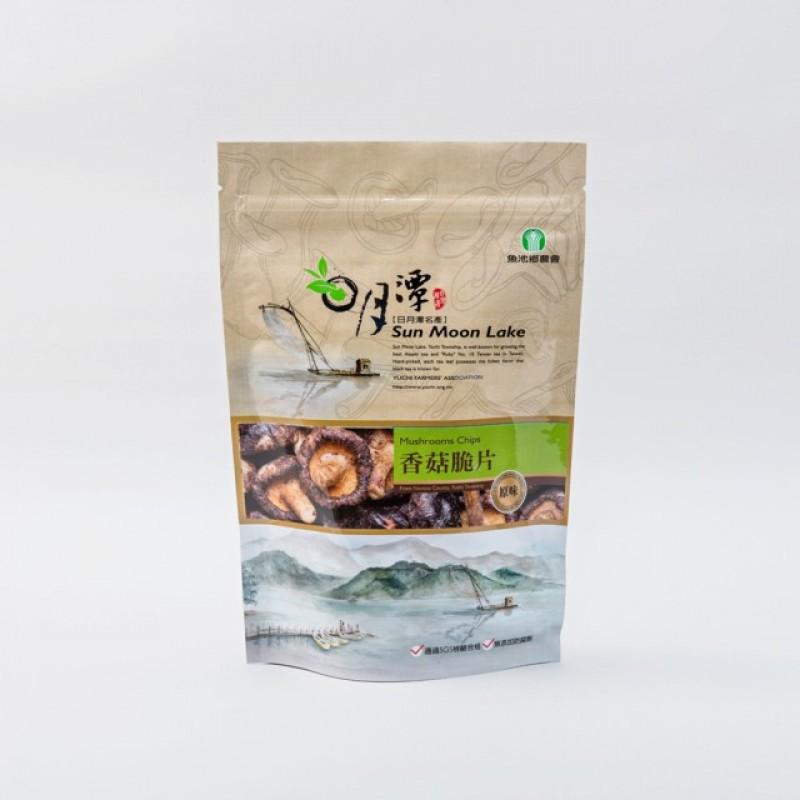日月潭名產 - 香菇脆片