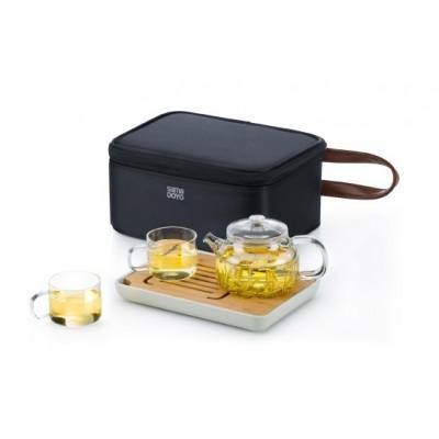 時尚旅行茶具組(小)