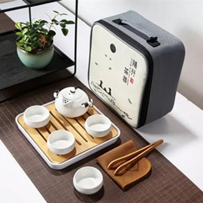 陶瓷旅行茶具套裝組