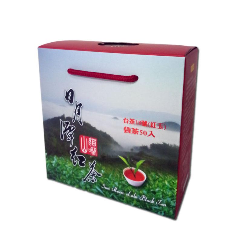 日月潭紅茶 - 台茶18號-紅玉(50入茶包)