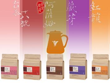 日月潭紅茶 - 樂活包(春天的18號.初蕊)