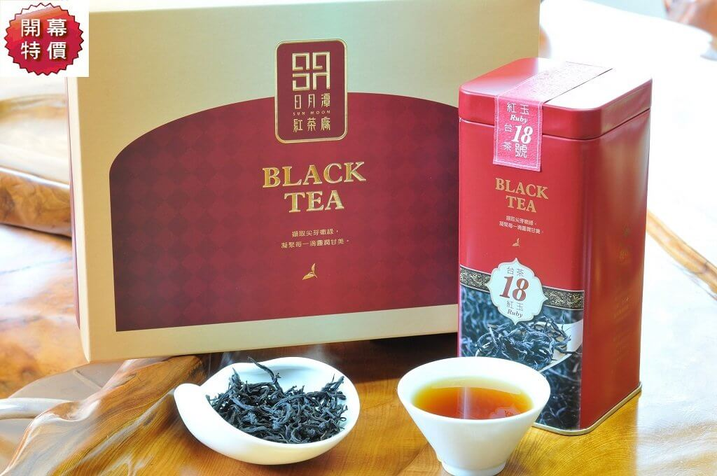 日月潭紅茶 - 頂級系列 (台茶18號-紅玉)