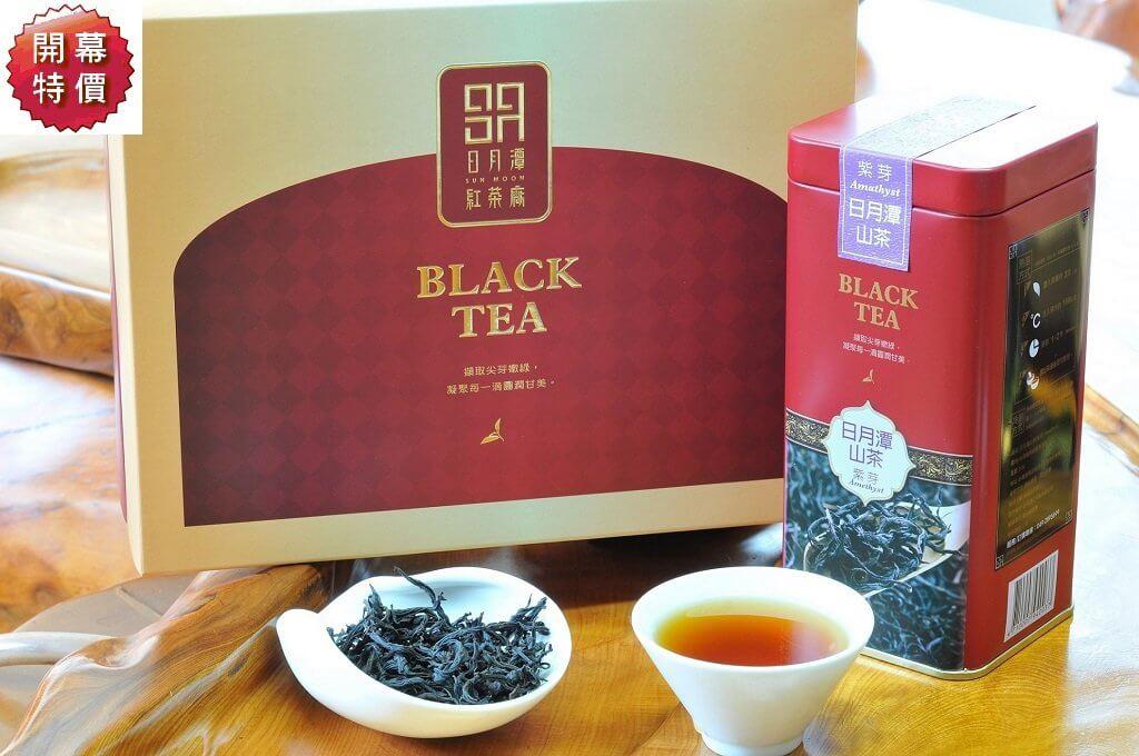日月潭紅茶 - 頂級系列 (山茶-紫芽紅茶)