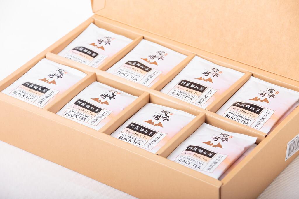 日月潭紅茶 - 台茶18號●紅玉紅茶 (80入袋茶禮盒)