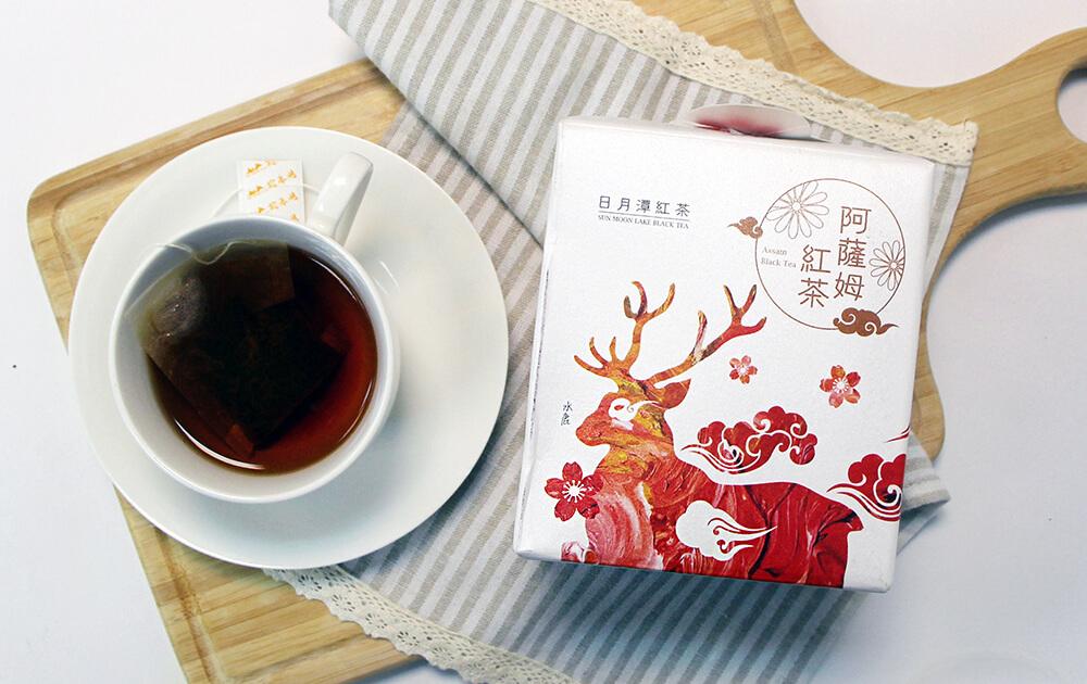 日月潭紅茶 - 生態主題袋茶禮盒 (阿薩姆紅茶15入)-水鹿