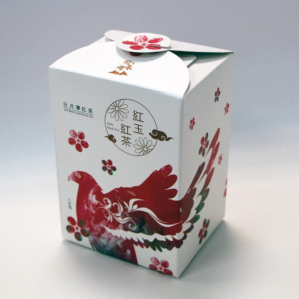 日月潭紅茶 - 生態主題袋茶禮盒 (紅玉紅茶20入)-大冠鷲
