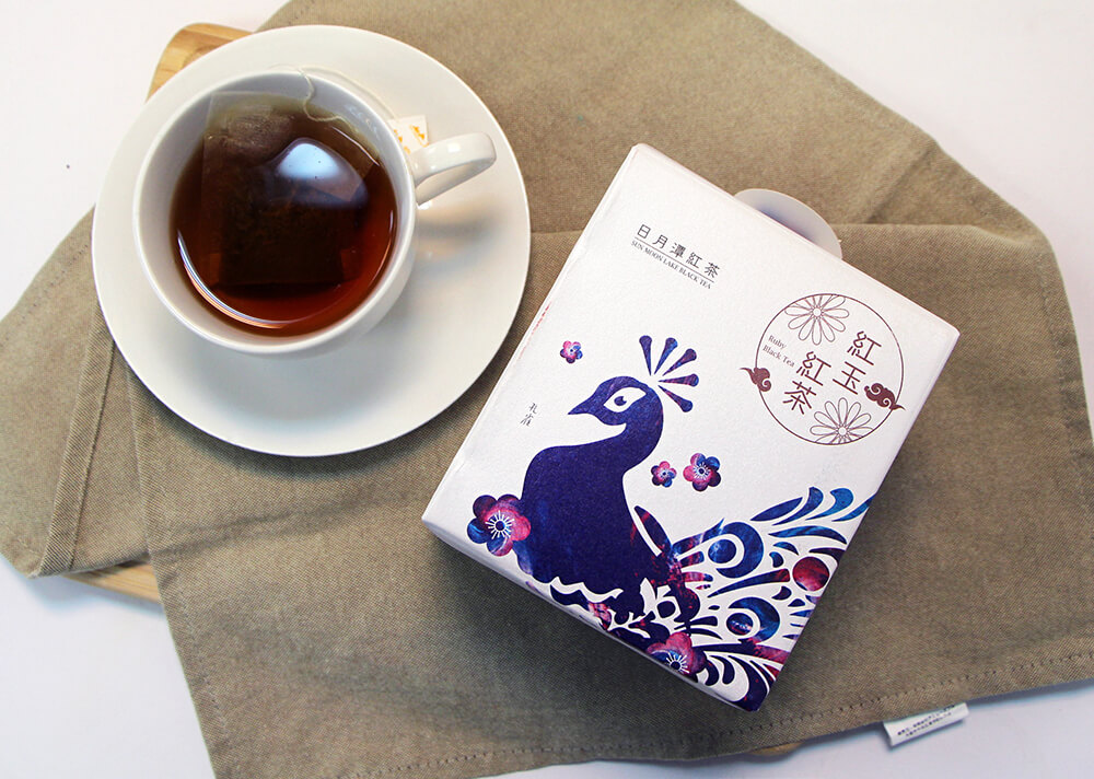 日月潭紅茶 - 生態主題袋茶禮盒 (紅玉紅茶15入)-孔雀