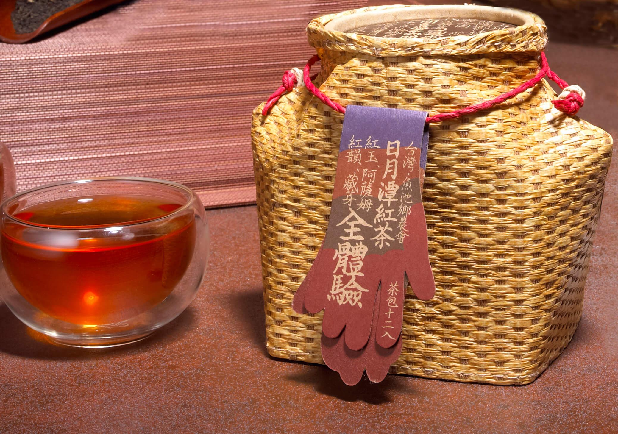 日月潭紅茶 - 懷古茶簍-全體驗茶包