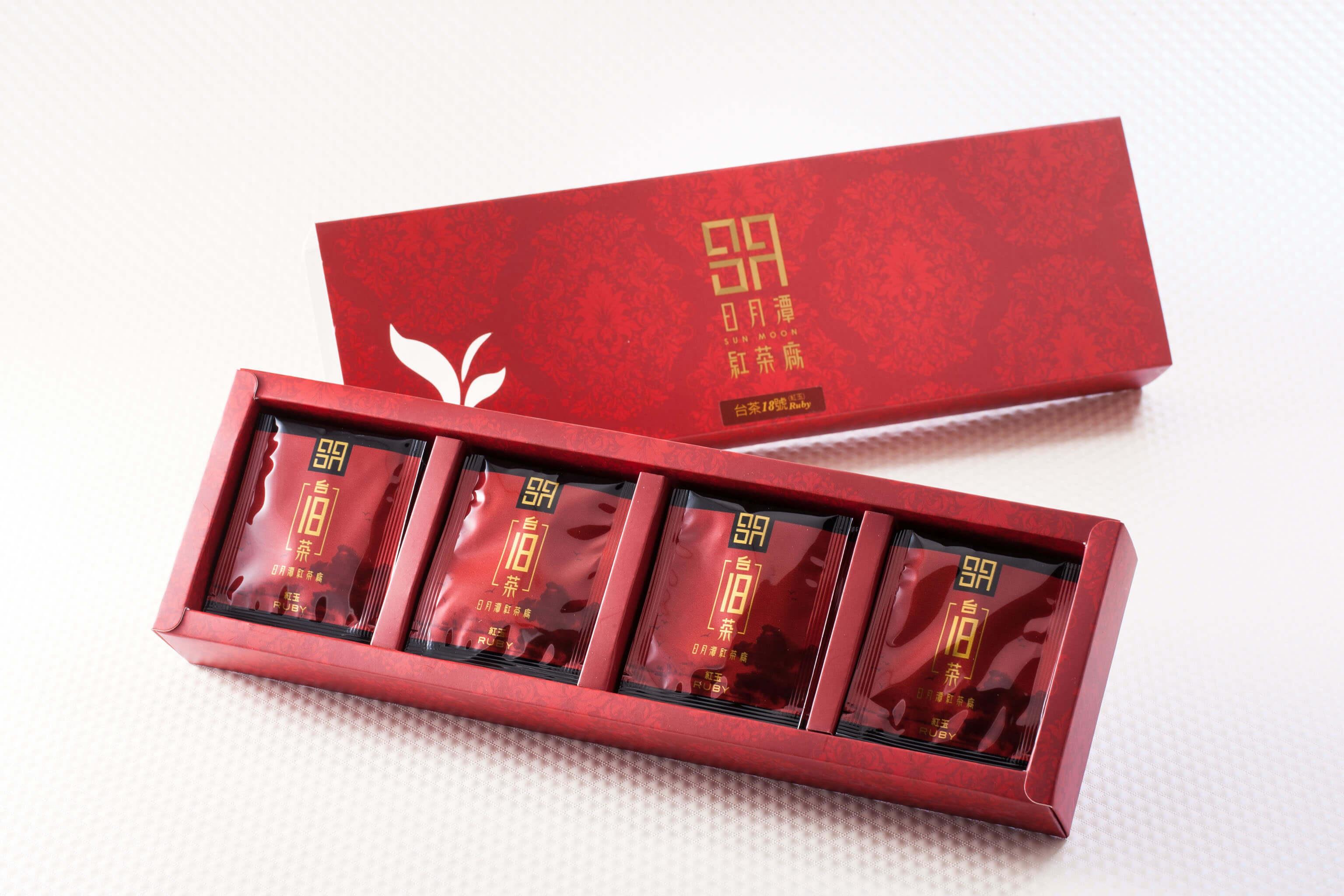 日月潭紅茶 - 頂級袋茶 (台茶18號紅玉)
