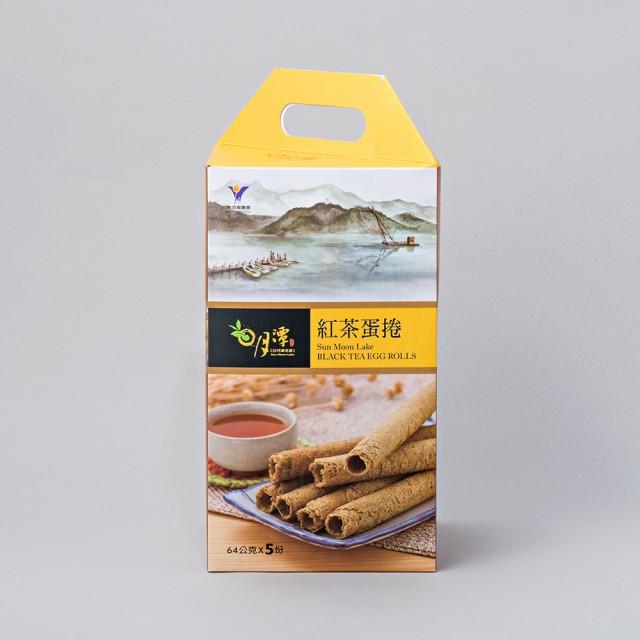 日月潭紅茶 - 蛋捲禮盒(5入)
